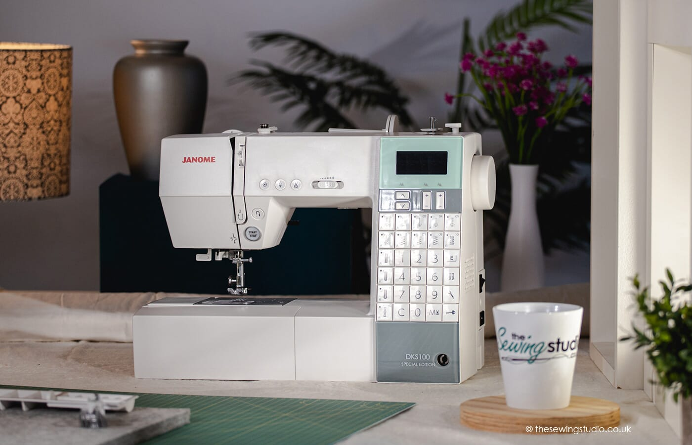Janome DKS100 Sewing Machine in a Sewing Room