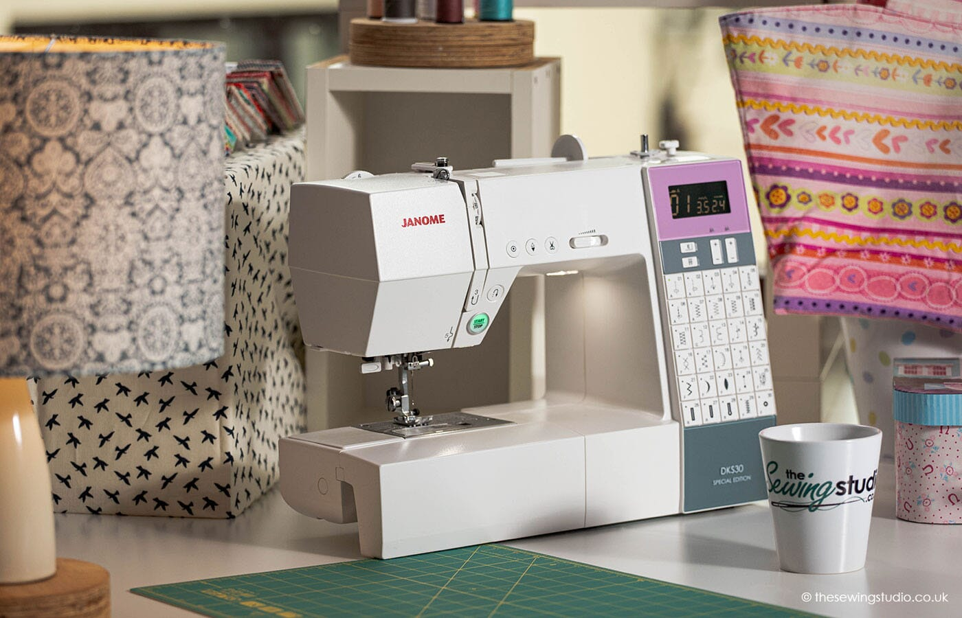 Janome DKS30 Sewing Machine in a Sewing Room