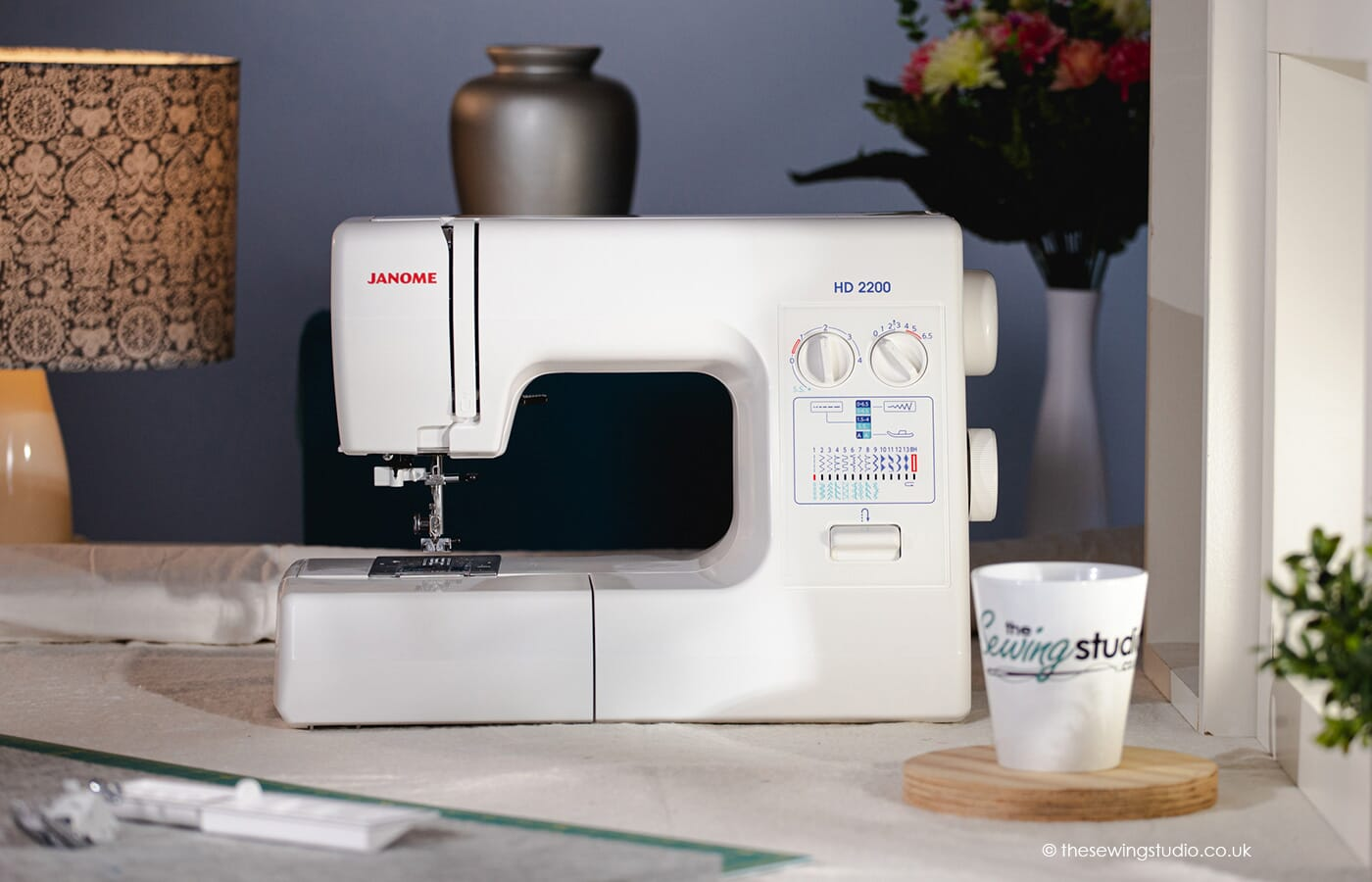 Janome HD2200 Sewing Machine in a Sewing Room