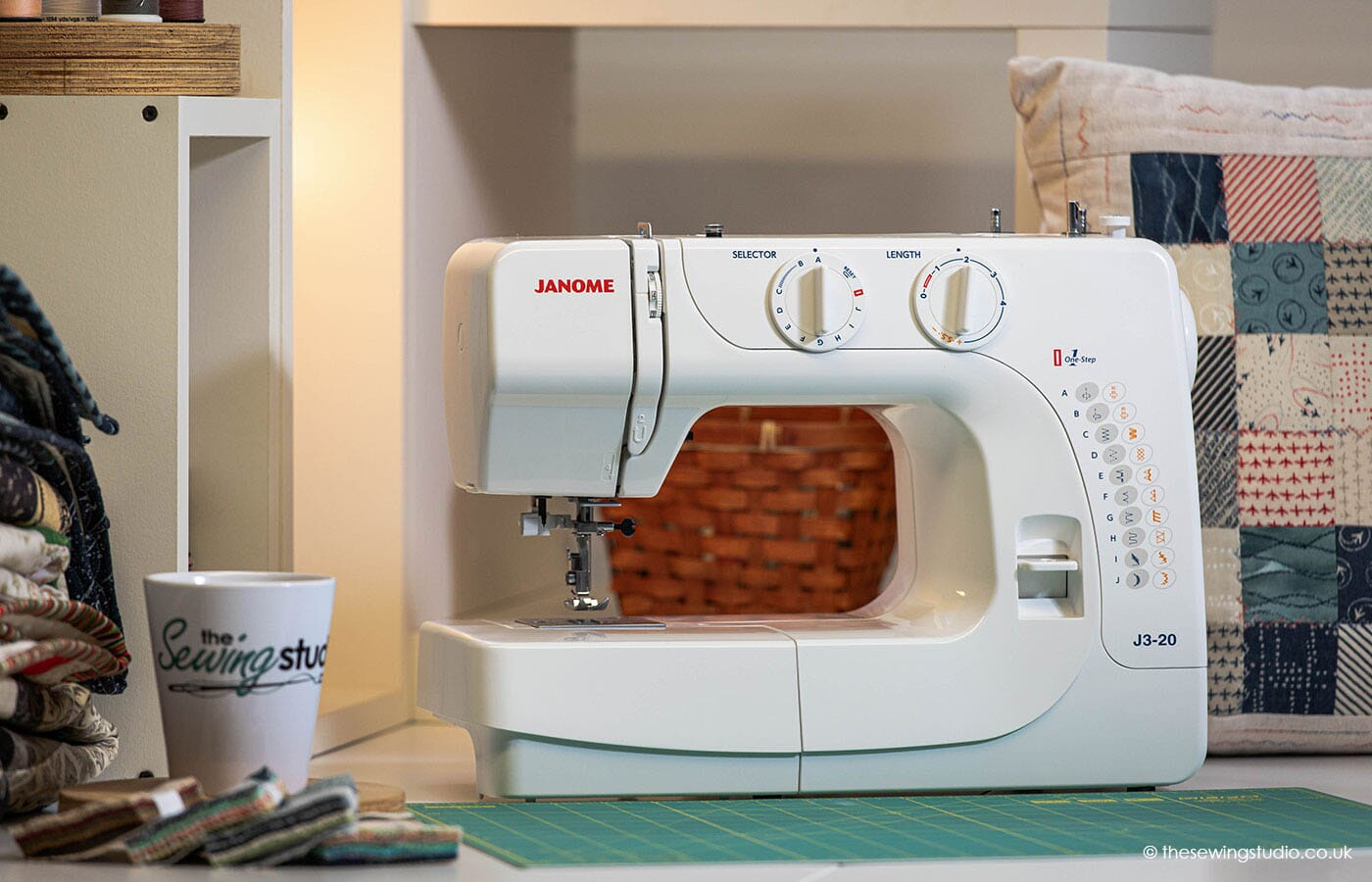 Janome J3-20 Sewing Machine in a Sewing Room