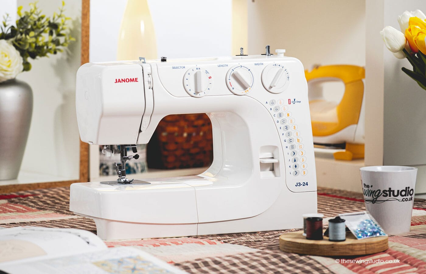 Janome J3-24 Sewing Machine in a Sewing Room