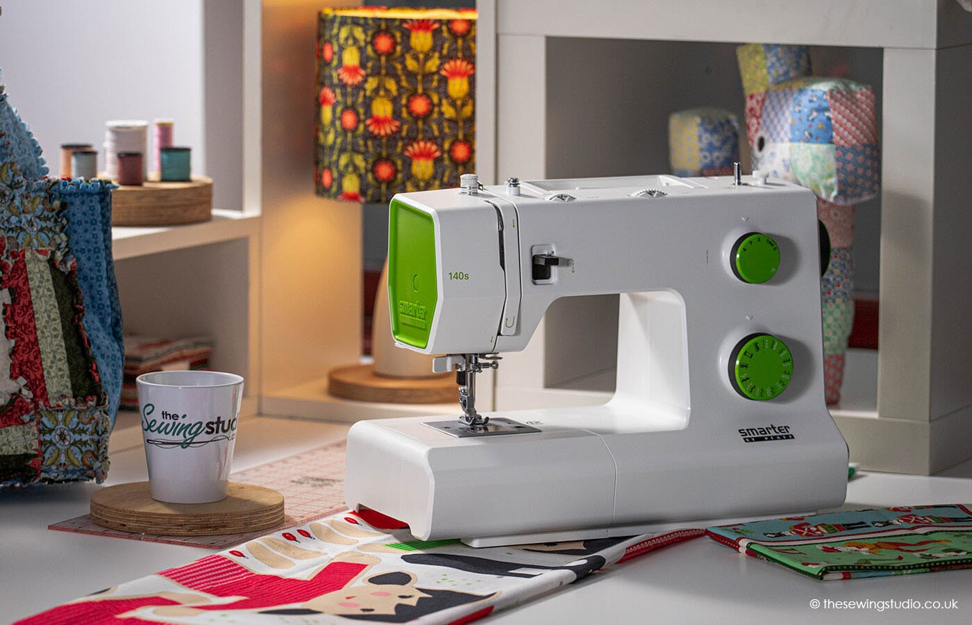 Pfaff Smarter 140s Sewing Machine in a Sewing Room