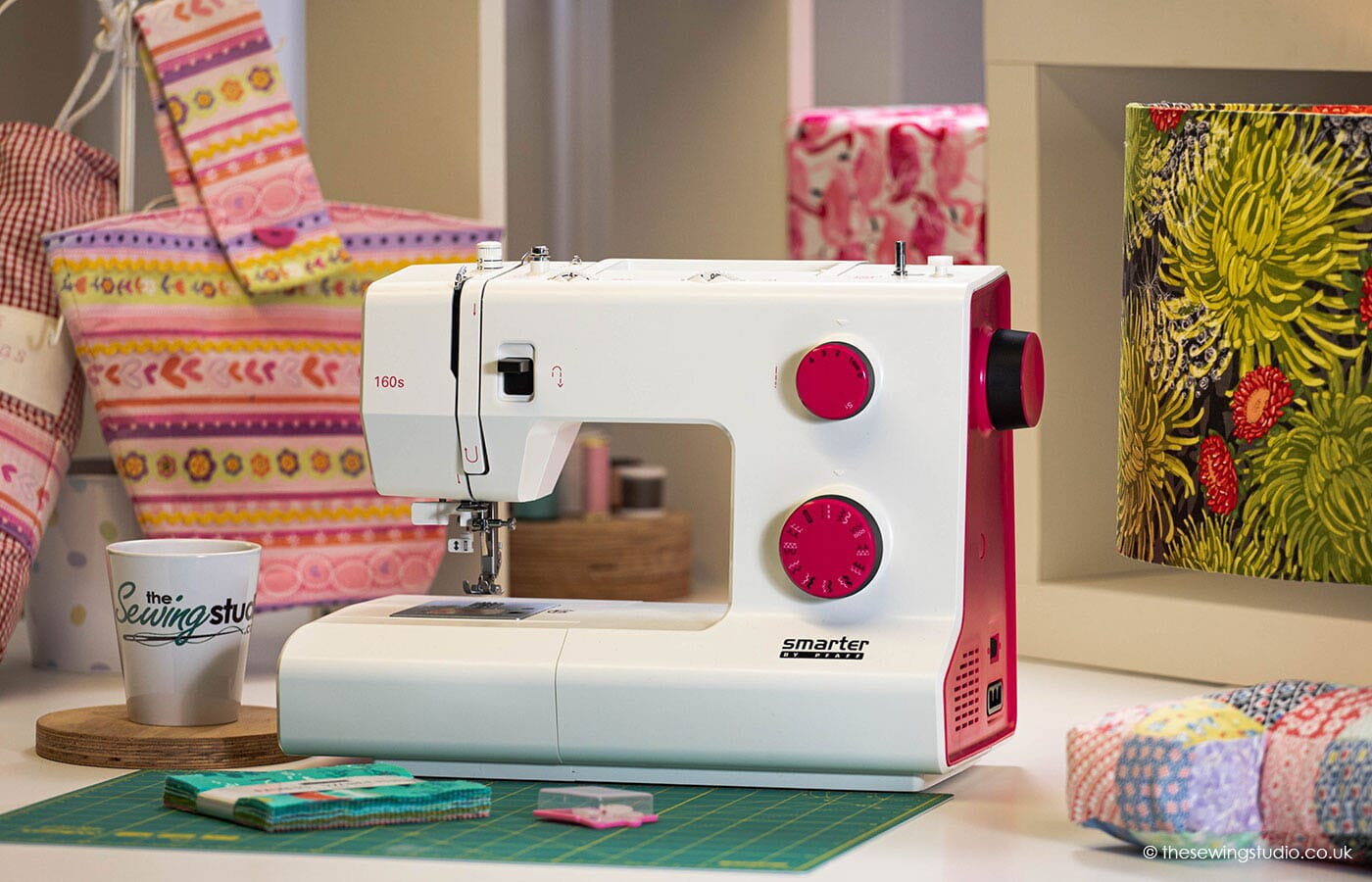 Pfaff Smarter 160s Sewing Machine in a Sewing Room